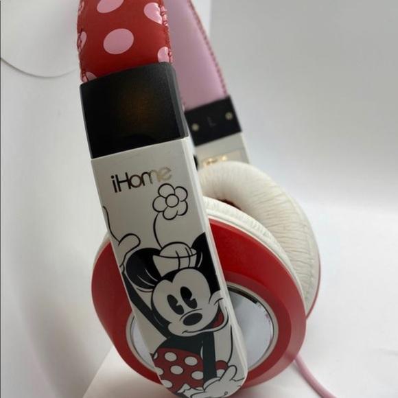 Disney Minnie Mouse iHome Headphones